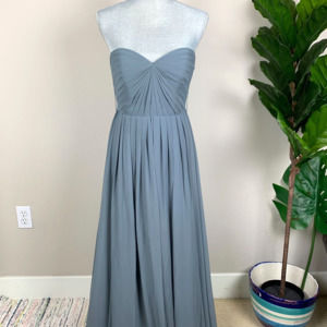 Jenny Yoo Collection Bridesmaid Gray Dress Size 4